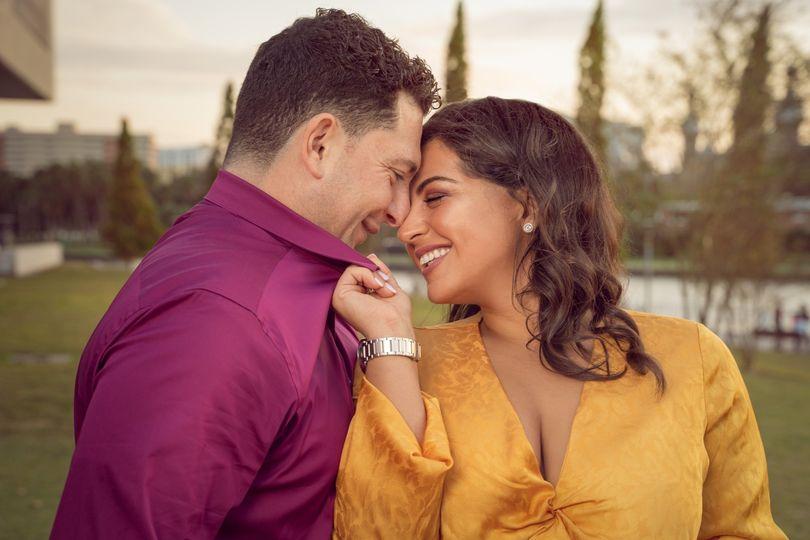 Ramil and Gina engagement
