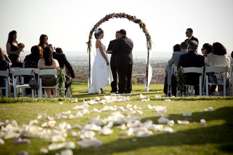 Fox creek wedding