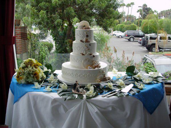 Tmx 1332295346688 WeddingCake Newbury Park wedding florist