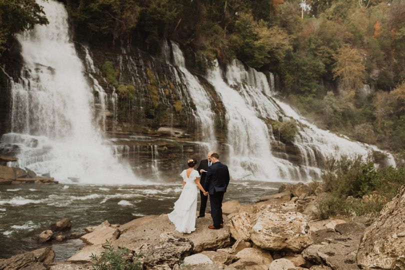 Waterfall ceremony