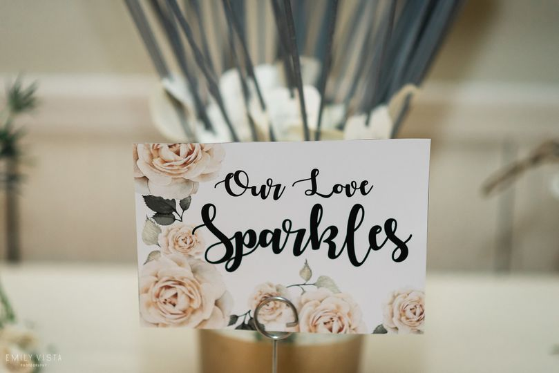 custom sparkler sign  photo by emilyvistaphotography-hudson valley