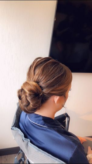 Texturized updo