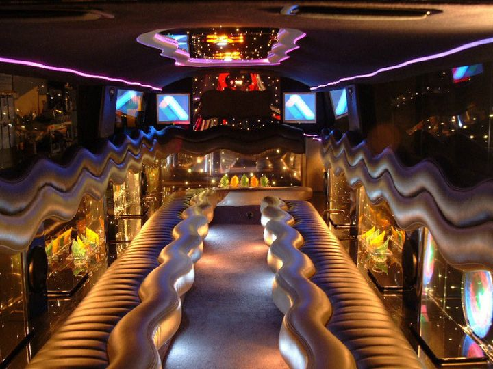 party bus in