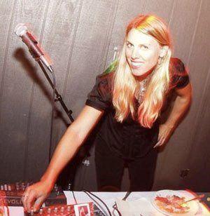 DJ Celeste at Kari and Berndt's wedding in S.F.