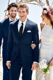 Michael kors navy blue suit