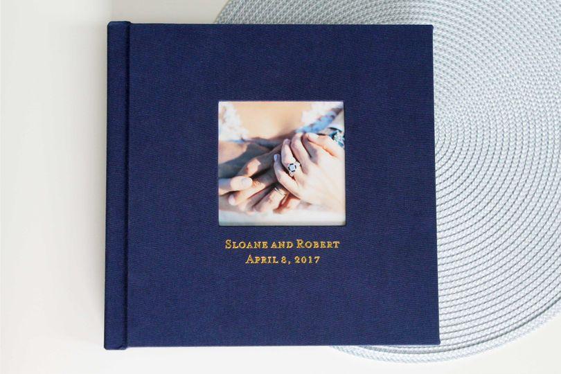 fabric cover album