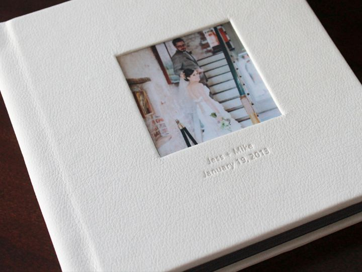 Tmx 1430498606690 Wedding Album Leather Cover6  New York, NY wedding favor