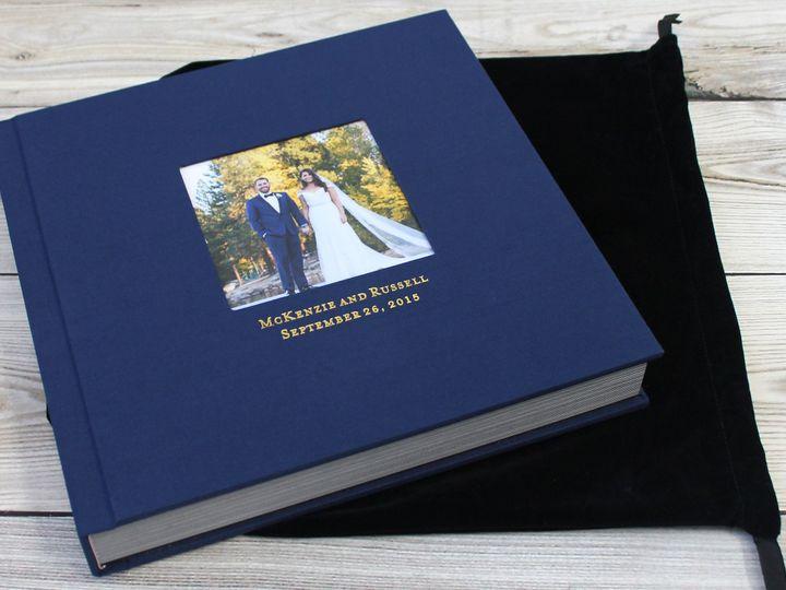 Tmx 1490032133895 Fabric Cover Wedding Album 12 New York, NY wedding favor