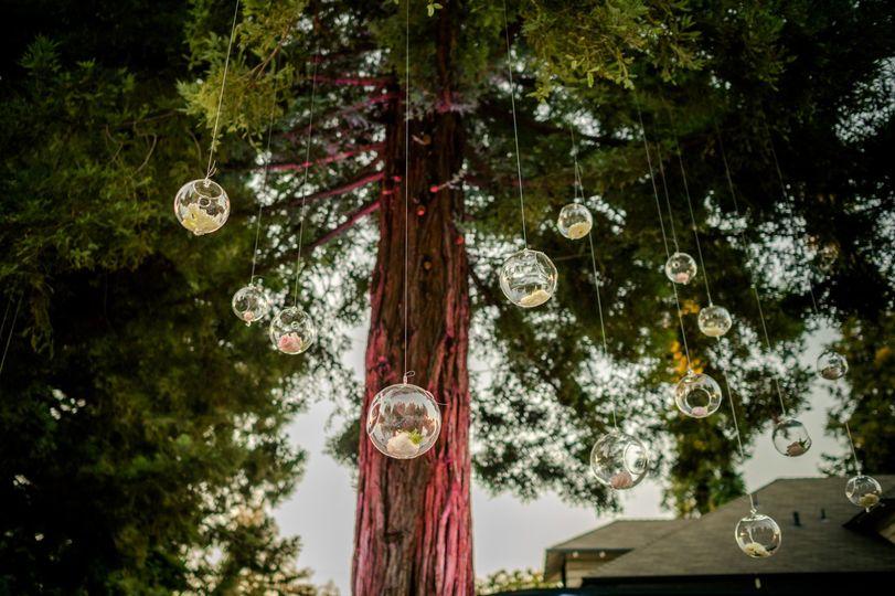 Decor for Santa Clara wedding