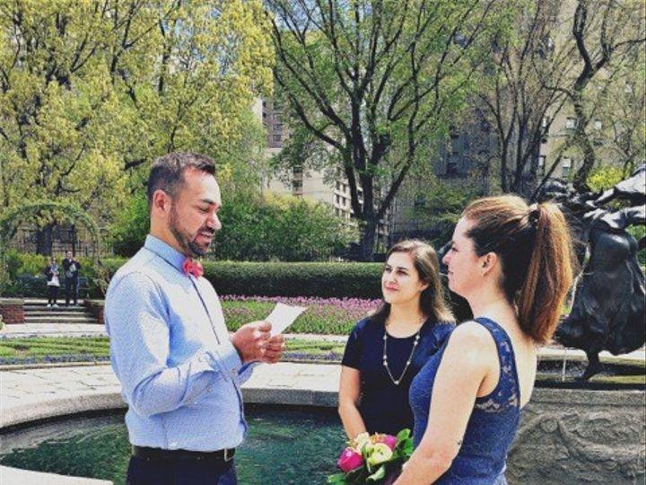 Tmx 1462223778245 Chantalpascalceremony1 New York, NY wedding officiant