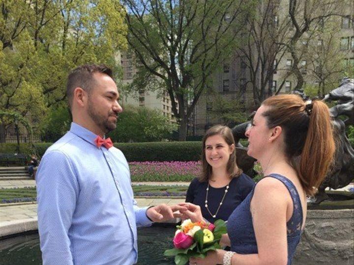 Tmx 1462223778291 Chantalpascalceremony2 New York, NY wedding officiant