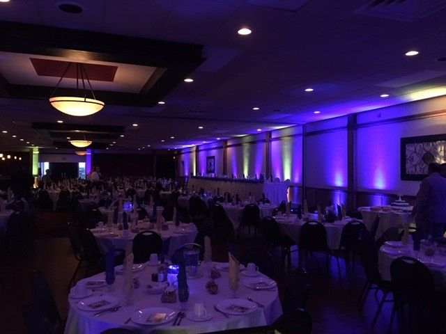 Purple themed event