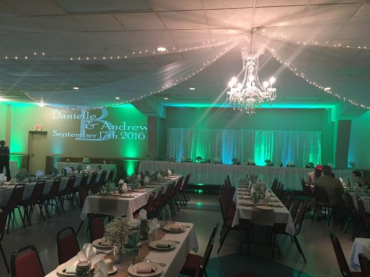 Turquoise themed event