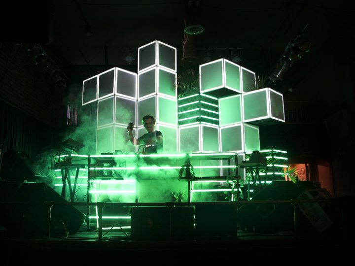 Tmx Live From Space Cubix Projection Mapping Concert Seattle 51 1022311 Beverly Hills, CA wedding eventproduction