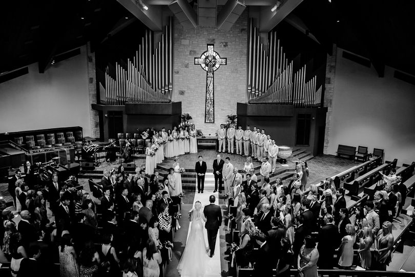 austin church wedding photography