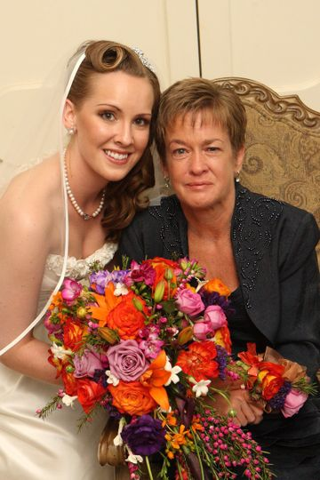 Bride with guest