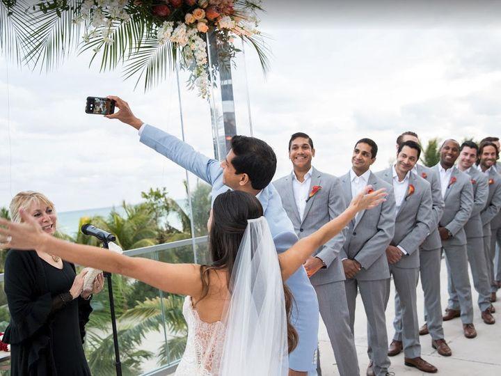Tmx Sarah Arvind Selfie Ps Photography 51 183311 Pompano Beach, FL wedding officiant