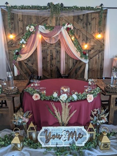 Head table