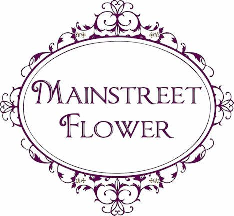 mainstreet flower market embelished logo new sma
