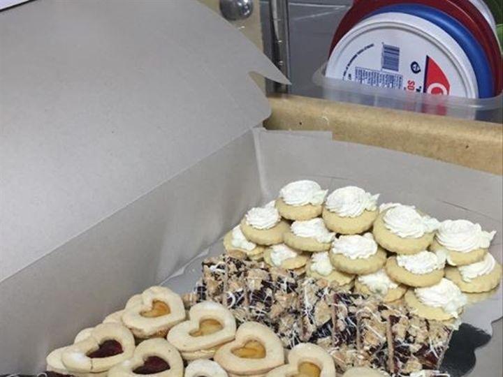 Tmx 1470002647376 Cookie Platter Canandaigua wedding cake