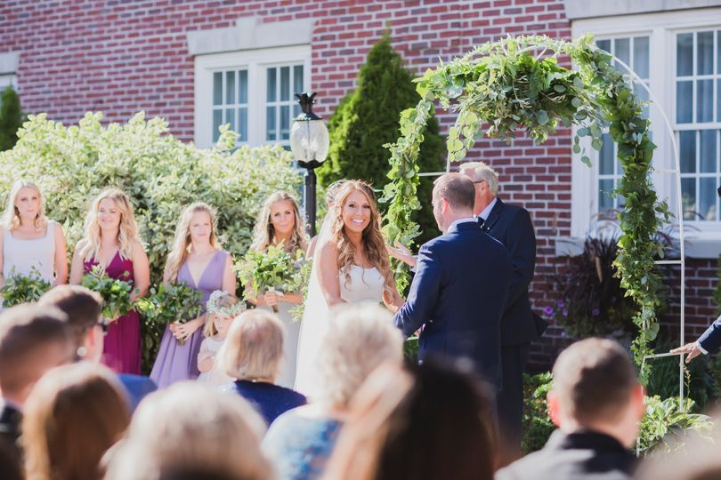 Courtyard Wedding