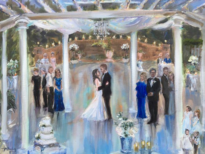 Tmx 2 First Dance Wedding Painting Elizabeth And Austin By Ann Marshall Bailey 2018 51 928311 1560393504 Roswell, GA wedding favor