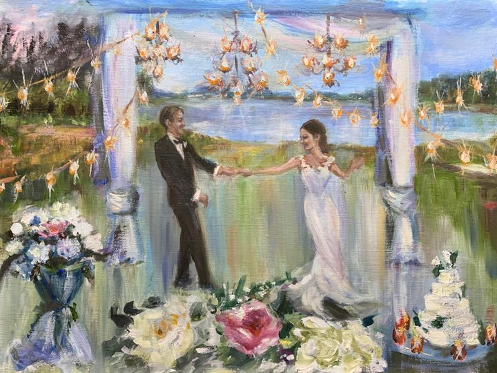 Tmx Reeves Close Wedding Painting 3 First Dance By Ann Bailey 51 928311 158882506586384 Roswell, GA wedding favor