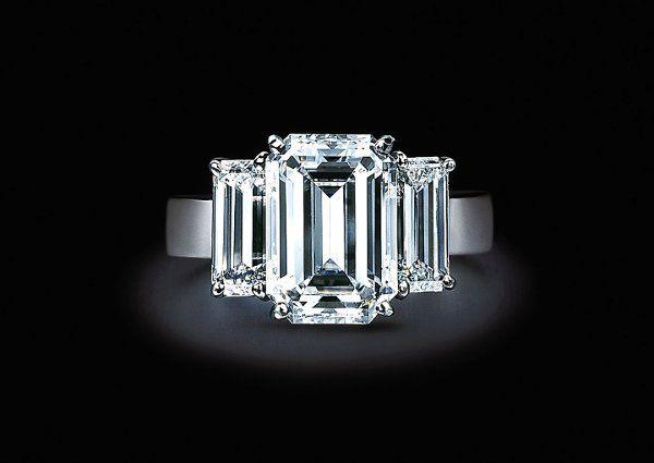 Tmx 1291134859443 3StoneEmeraldCutEngagementRing Arlington wedding jewelry
