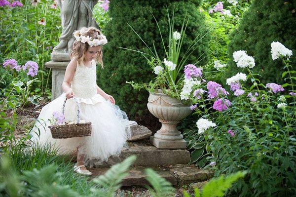 Junior wedding attendant