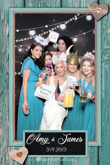 Beautiful Bride& Bridemaids!