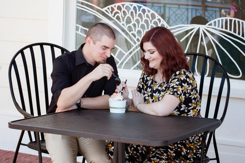 True love is sharing ice-cream