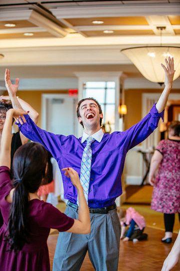 Dancing makes people HAPPY!