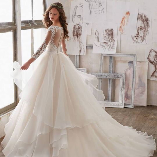 The fairytale wedding dress