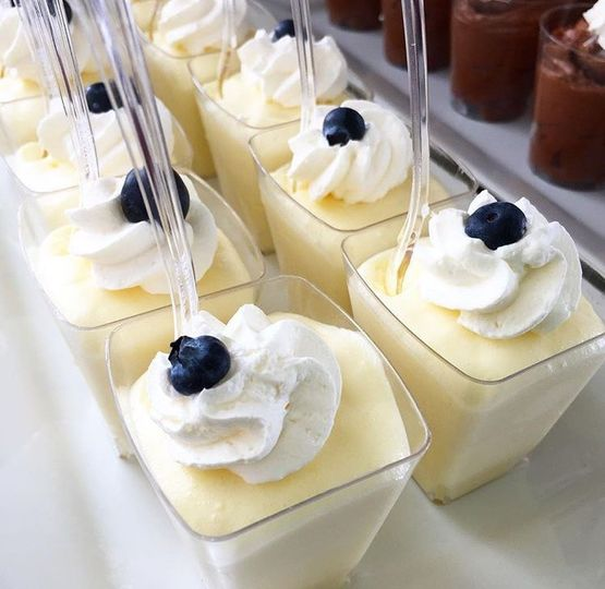Lemon Mousse Shooters