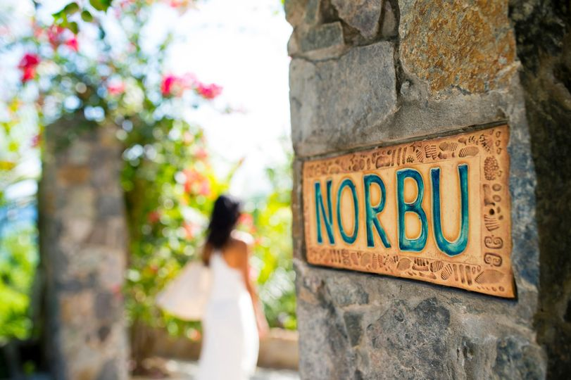 Entrance to Norbu