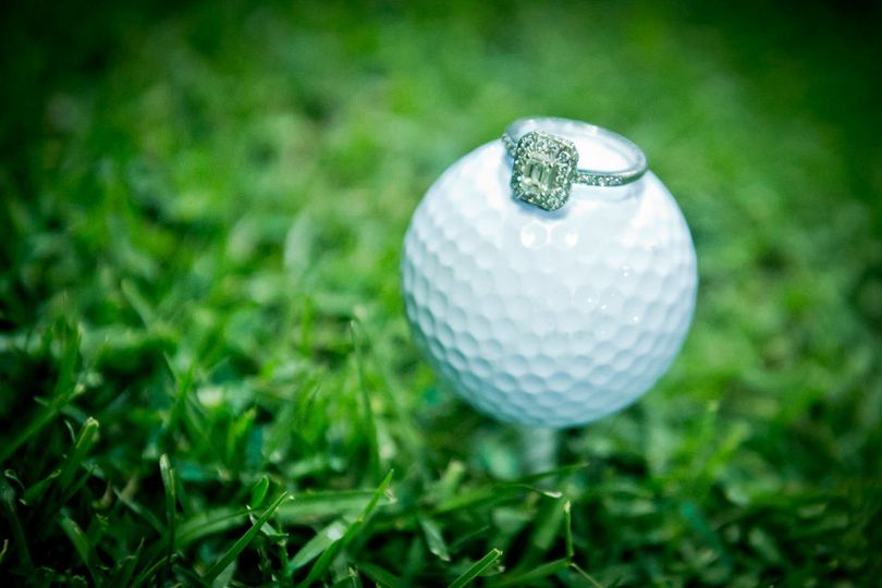 Golf and ring