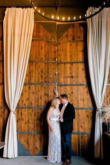 Beautiful Barrel Room Doors