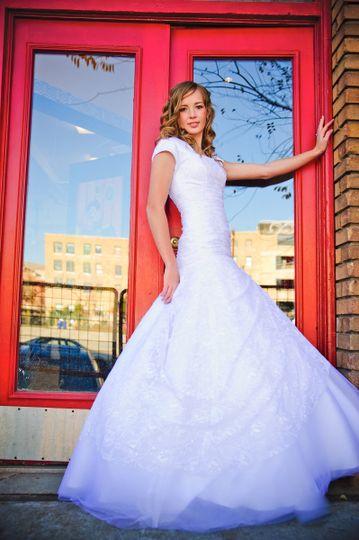 side full dress