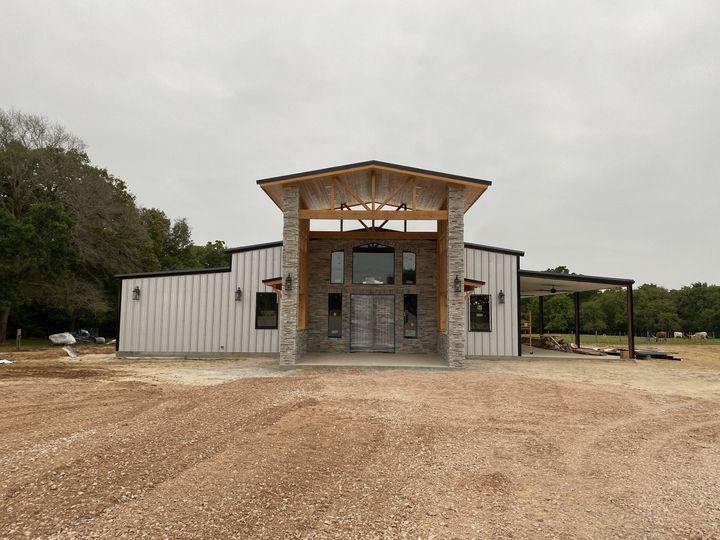 Circle C Barn Under Constructi