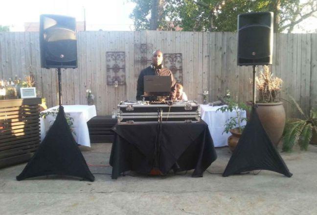DJ on his station