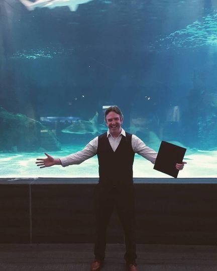 newport aquarium rehearsal