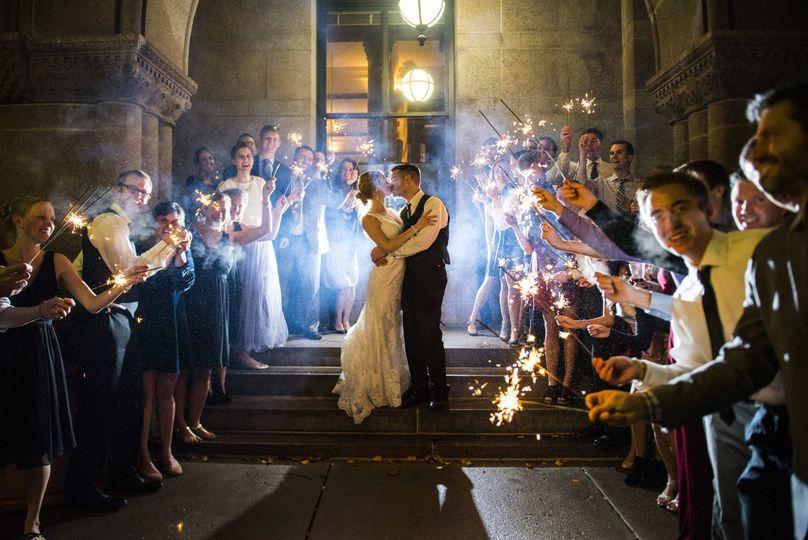 Landmark Center Wedding
