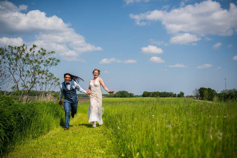Belle plain wedding