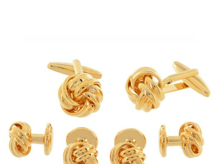 Tmx Gold Knot Stud Set 51 1068411 1562561070 Windermere, FL wedding dress