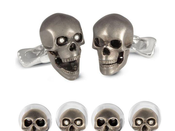 Tmx Sterling Diamond Eyed Moving Jaw Skull Stud Set 51 1068411 1562561076 Windermere, FL wedding dress