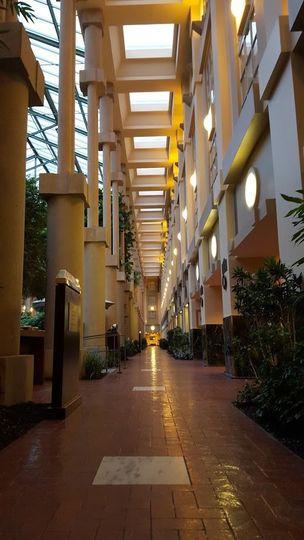 Atrium Hallway