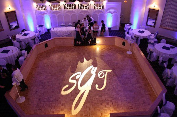 Greystone Castle Uplighting Syracuse DJ Black Tie Entertainment