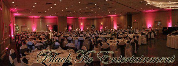 Radisson Hotel, Utica, Pink uplighting by Black Tie Entertainment DJ Photo Booth
