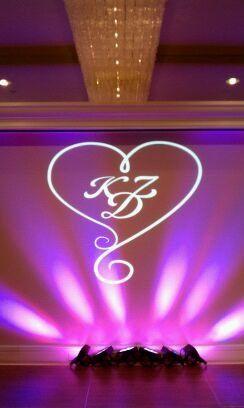 Statler Hotel, monogram in lights by Black Tie Entertainment DJ Photo Booth