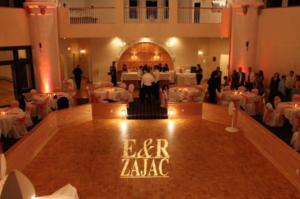 Greystone Castle, name in lights by Black Tie Entertainment DJ Photo Booths